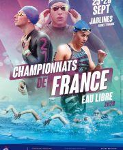 Championnats de France eau libre 2020 à Jablines