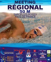 2018 Sarcelles Roissy Pays de France Regional Meeting - 50 m
