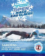 Championnats de France 2020 en eau glacée à Samoëns