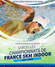 Championnats de France 2020 Indoor du 5 km à Sarcelles
