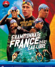Championnats de France eau libre 2021 à Gravelines