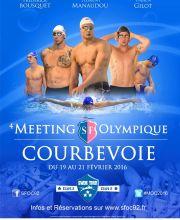 4th Meeting Olympique de Courbevoie MOC 2016 - 50 m